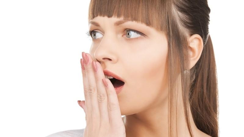 Burnos kvapo testas namuose