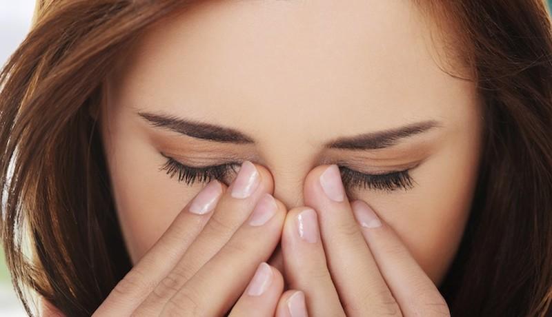 užnosinis lašėjimas blogas kvapas