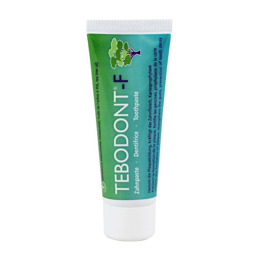 Tebodont dantu pasta | Antibakterine dantu pasta | Dantu pasta su arbatmedziu