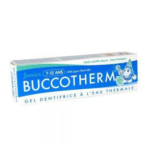 Buccotherm vaikiska dantu pasta gelis Mint 7-12 m.