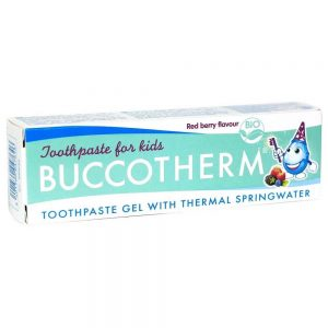 Buccotherm vaikiska dantu pasta gelis Red Berry 3+ BIO