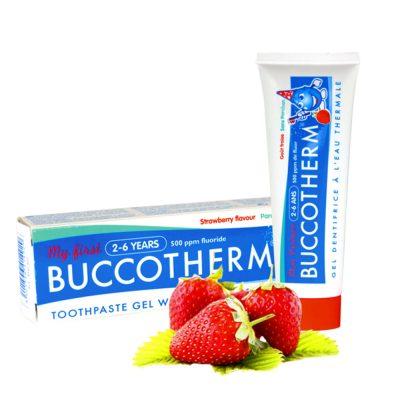 Buccotherm vaikiska dantu pasta gelis braske 2-6 m.