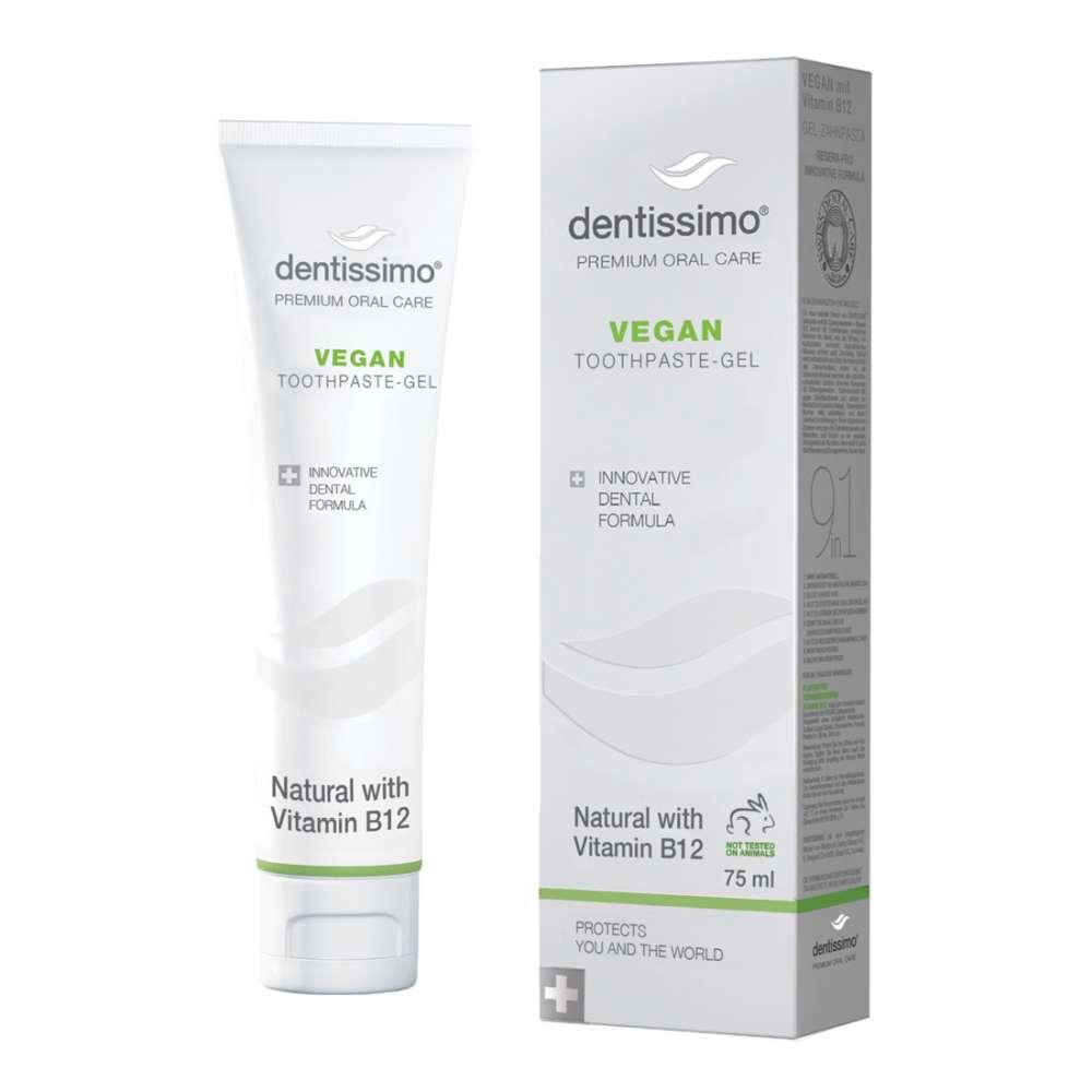 Dentissimo vegan veganiška dantu pasta su vitaminu b12
